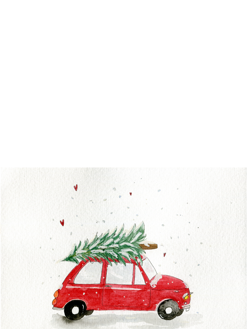 DRIVING HOME FOR CHRISTMAS ROTES AUTO WE