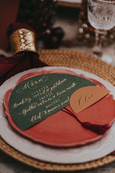 Hochzeitspapeterie modern rund