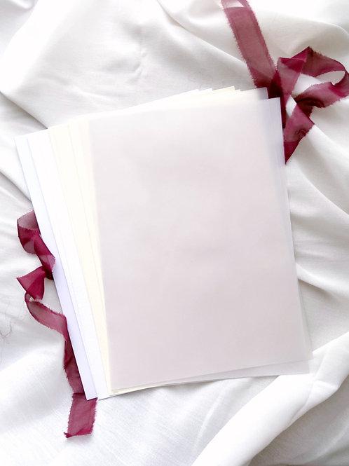 Papierpaket |  30 Seiten A4