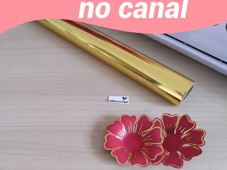 Sonha em fazer aplicação de foil mas não possui impressora a laser nem a foil quill?!