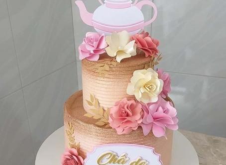 Topos de bolos florais_ Tendência  de mercado
