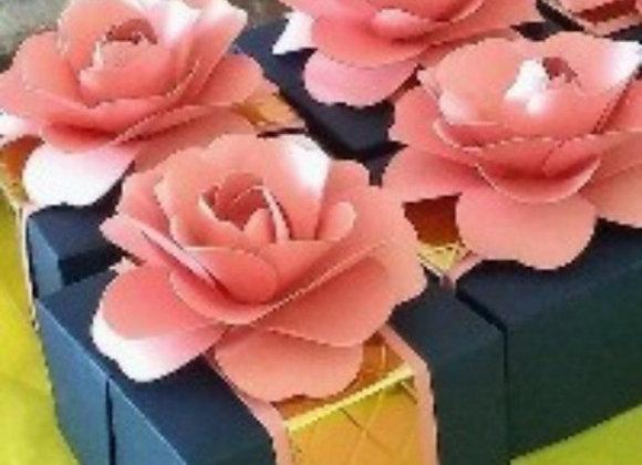 Molde digital flor 47