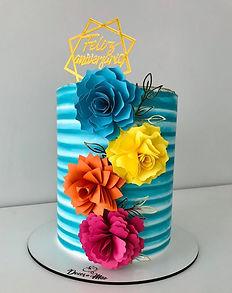 For de topo de bolo