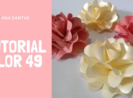 Como modelar a flor 49