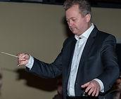 Waldemar Gudi - Dirigent des 1. Hamburger Akkordeonorchesters