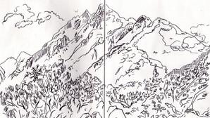 伊藤美沙 とアスカ・O展「山のあなた」を開催します