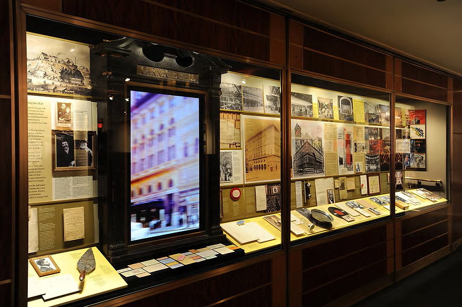 2018.09.09 Carnegie Hall HistoryExhibit_