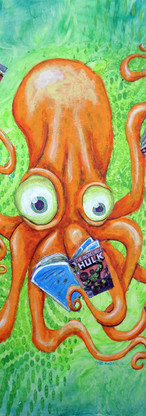 Comic Book Octopus