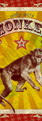 MONKEY Circus Poster