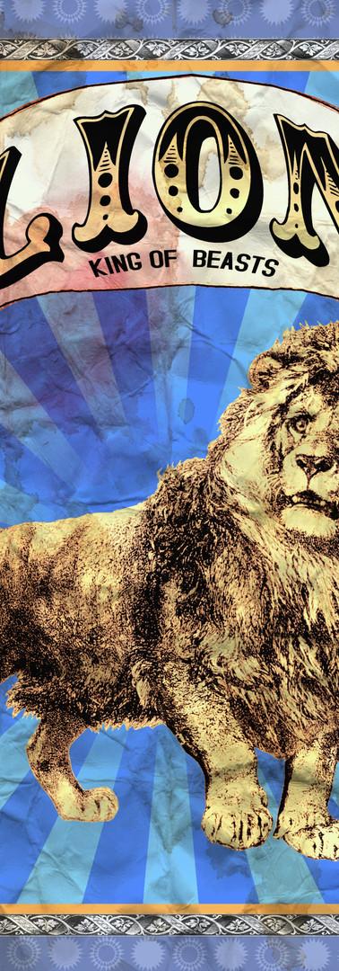 LION Circus Poster