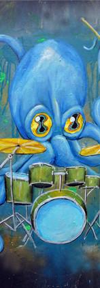 Octopus Drummer