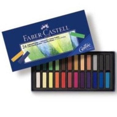 Soft Pasteller, Halv Længde 24 Stk. Creative Studios