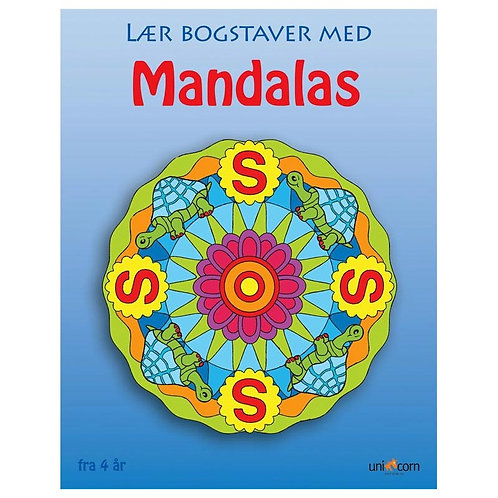 Malebog Mandalas, Lær Bogstaver