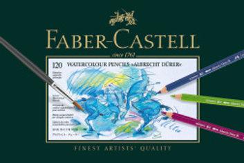 Faber-Castell Albrecht Dürer Akvarelblyanter, Metalæske med 120 stk. ass.