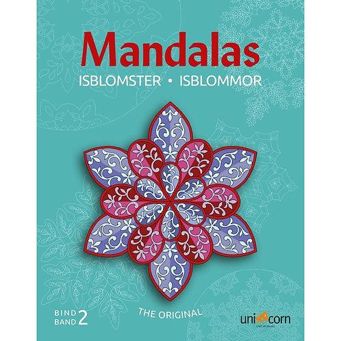 Malebog Mandalas, Eventyrlige Isblomster Bind II