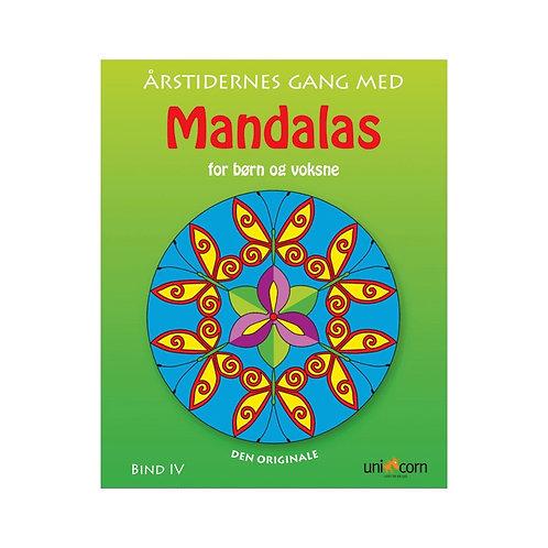 Malebog Mandalas, Årstidernes Gang For Børn & Voksne Bind IV