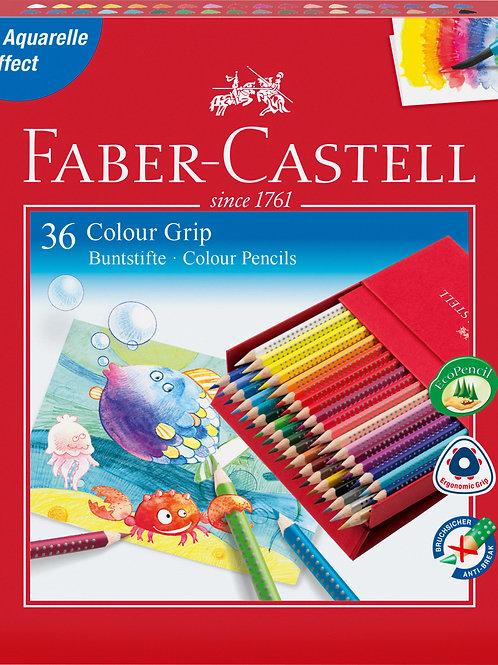 Faber-Castell Farveblyanter Studieboks Med 36 Stk.