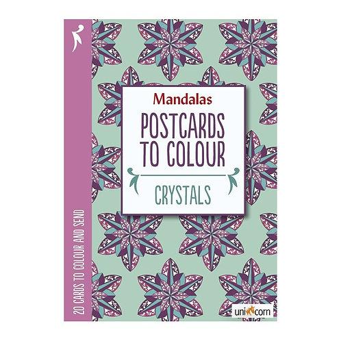 Malebog Mandalas, DIY fødselsdagskort og postkort