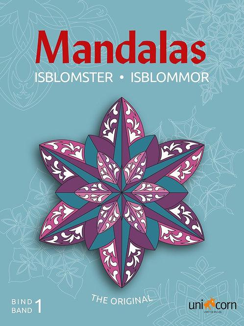 Malebog Mandalas, Eventyrlige Isblomster Bind1