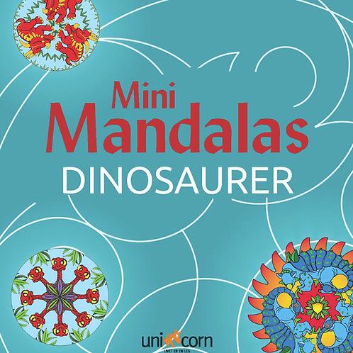 Malebog Mini Mandalas, Dinosaurer