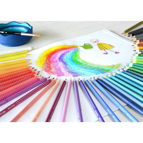 Farveblyanter i Papæske Med 36 Forskellige Colour Grip