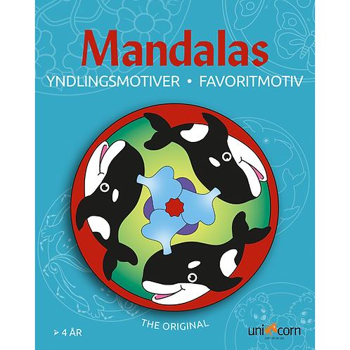 Malebog Mandalas, Yndlingsmotiver