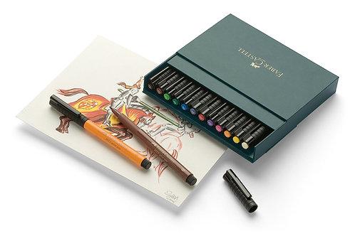 PITT Artist Penne, Studio Boks Med 12 Basisfarver