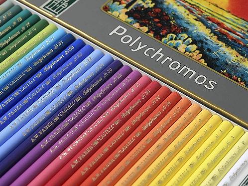 Polychromos farveblyanter i retro-udgave med 24 stk.