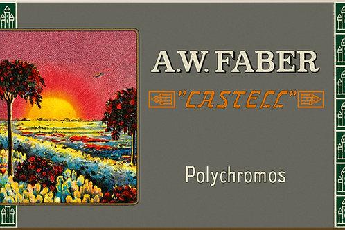 Polychromos farveblyanter i retro-udgave med 12 stk.