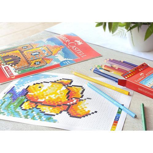 Faber-Castell Colour Grip, Pixel Tegnesæt