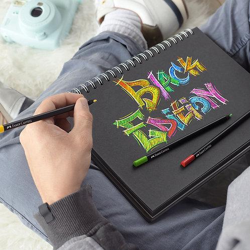 Farveblyanter egnet til sort papir, Papæske med 36 stk.