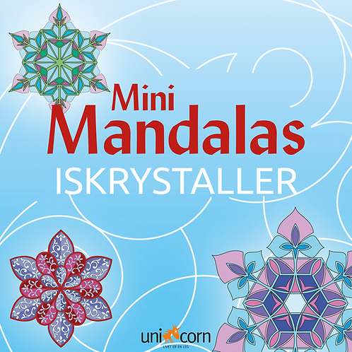 Malebog Mini Mandalas, Iskrystaller