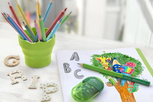 Skoleblyant i bæredygtigt træ - Begynderblyant - Vælg farve