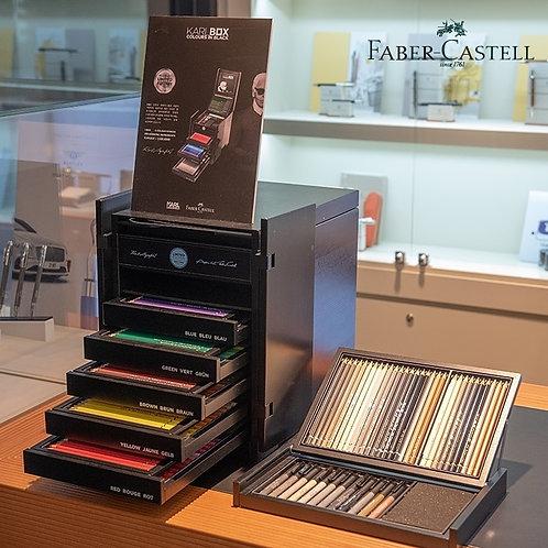 KARLBOX kunstnerboks Faber-Castell │ Karl Lagerfeld