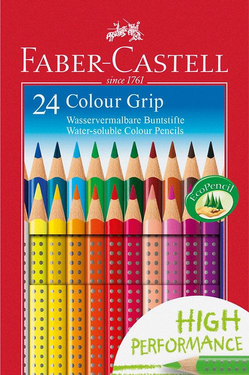 Farveblyanter 24 stk. + 2 gratis blyanter TOPSÆLGER