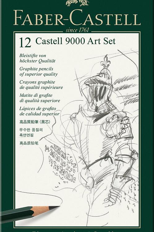 Castell 9000 tegneblyant