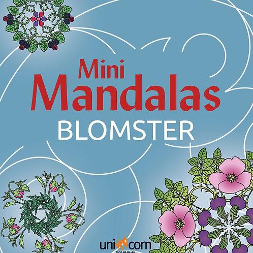 Malebog Mini Mandalas, Blomster