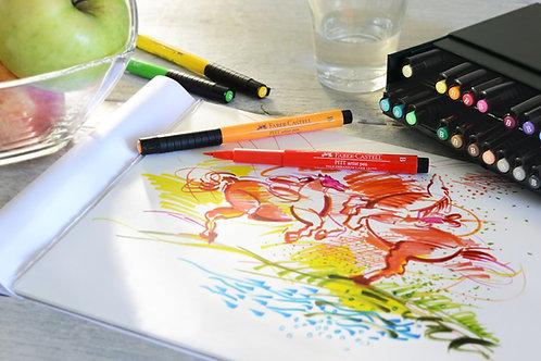 PITT Artist Penne, Studio Boks Med 24 Farver