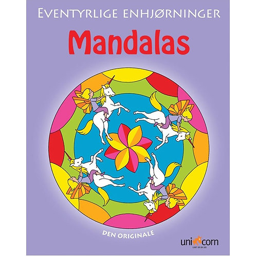 Malebog Mandalas, Eventyrlige Enhjørninger