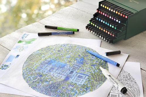 PITT Artist Penne, Studio Boks Med 48 Farver
