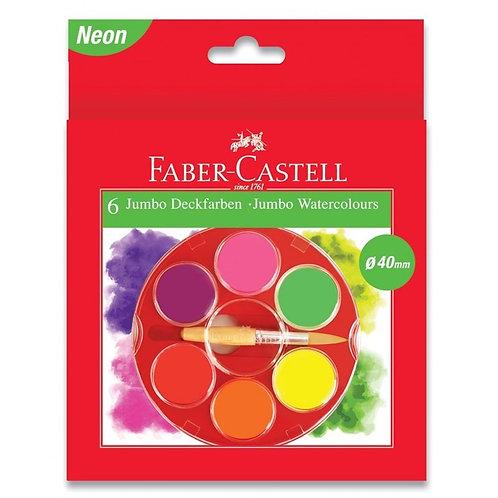 Farvelader, 6 Dækkende Klare Farver