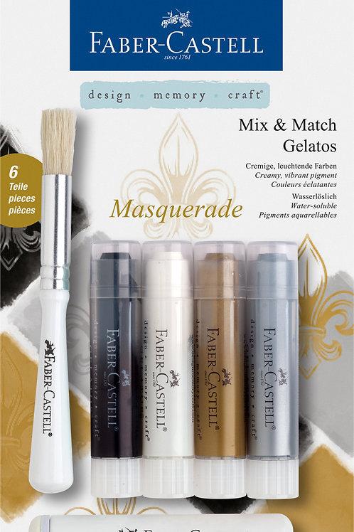 Farvestifter Gelatos - Vandopløselige Med Stempelstift Og Pensel