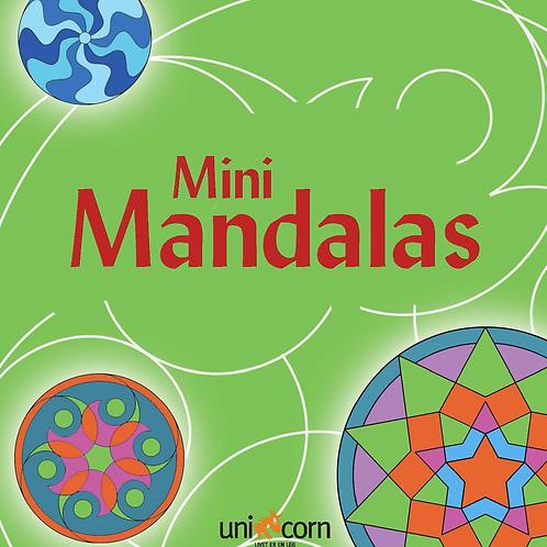 Malebog Mini Mandalas, Grafiske Mønstre Grøn