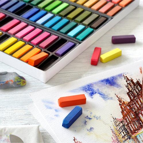 Soft Pasteller, Halv Længde 72 Stk. Creative Studio