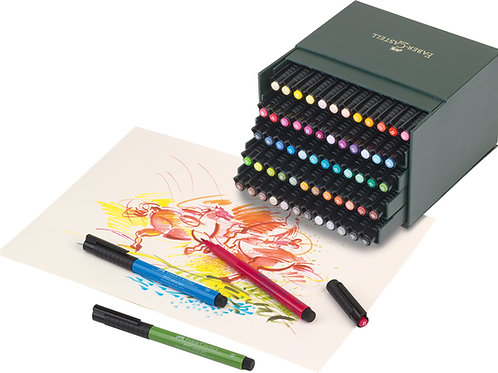 PITT Artist Penne, Studio Boks Med 60 Farver