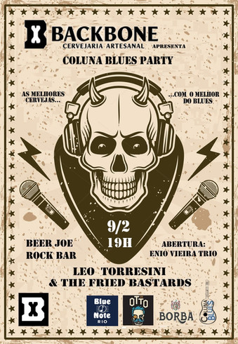 Cervejaria Backbone apresenta Coluna Blues Party