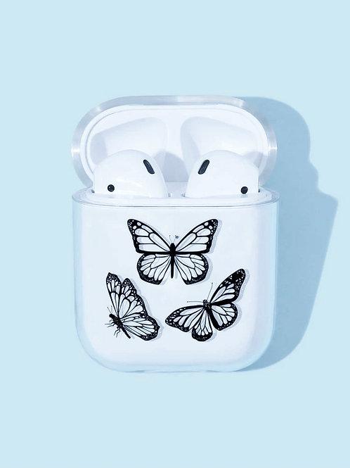 Butterfly Pattern Airpod Case