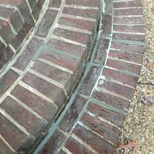 masonry repair - after