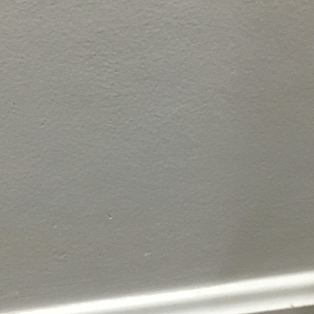 Drywall repaired
