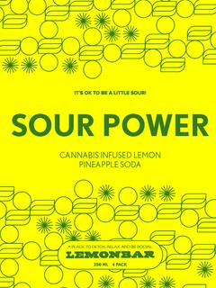 Sour Power Label